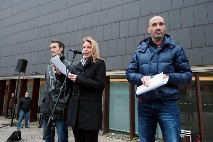 Carmelo Villamarin, Idoia Altadill y Javi Eseverri