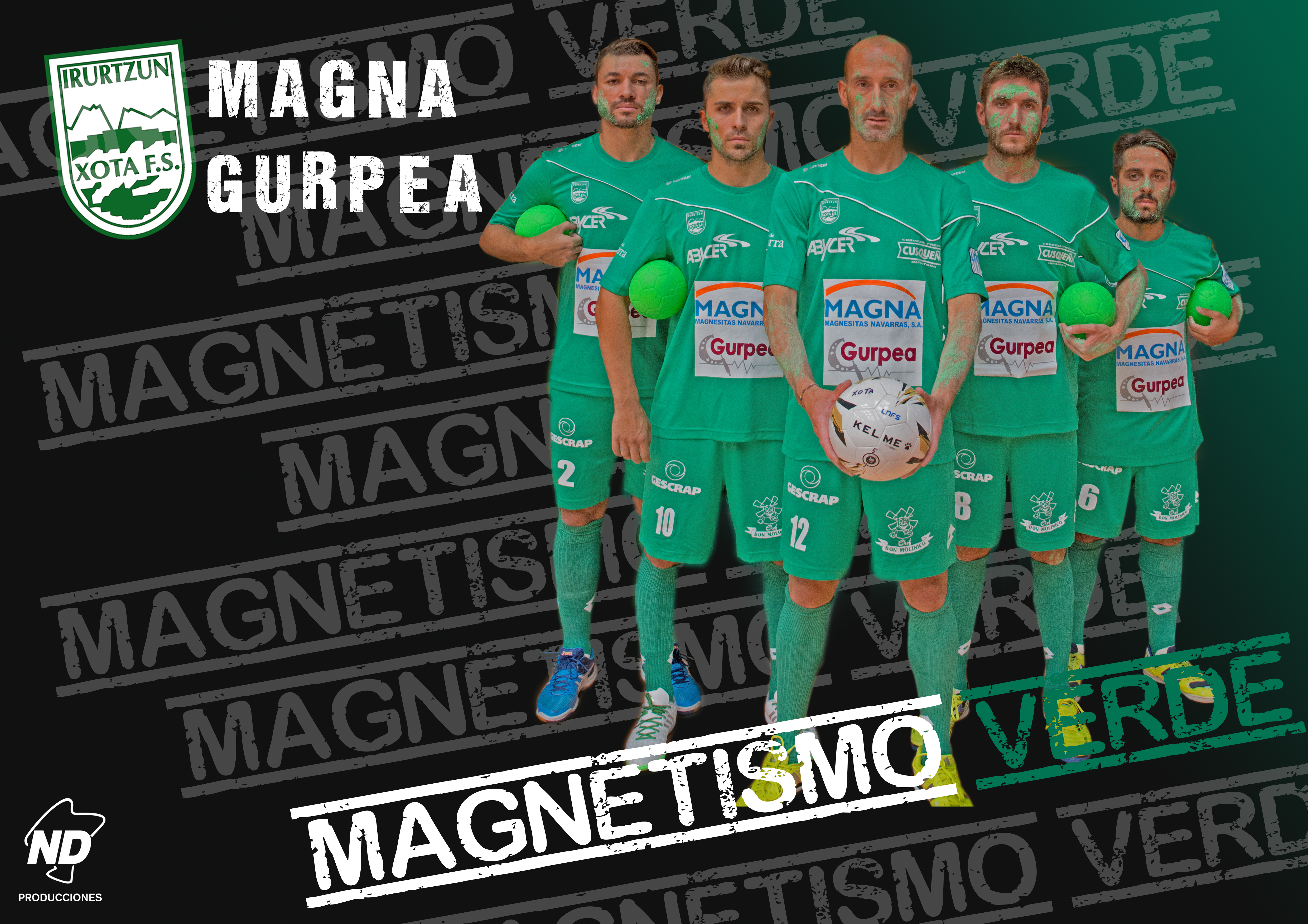 MAGNETISMO VERDE!!