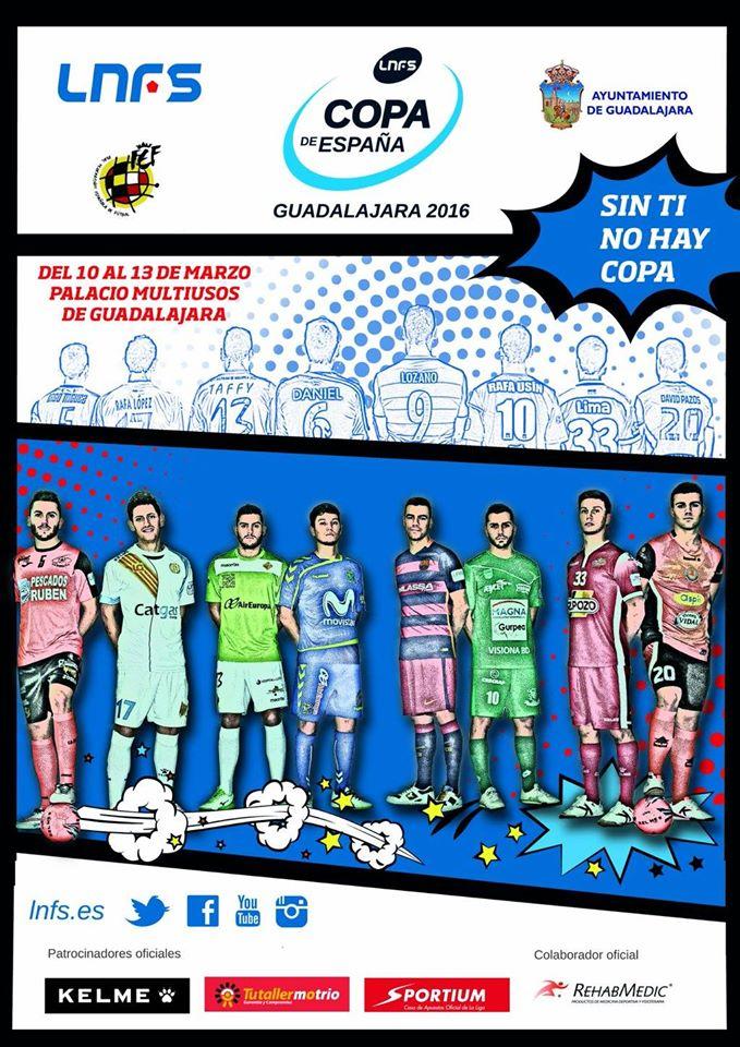 Cartel oficial Copa de España