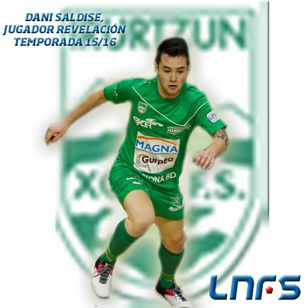 Dani Saldise, mejor jugador revelación