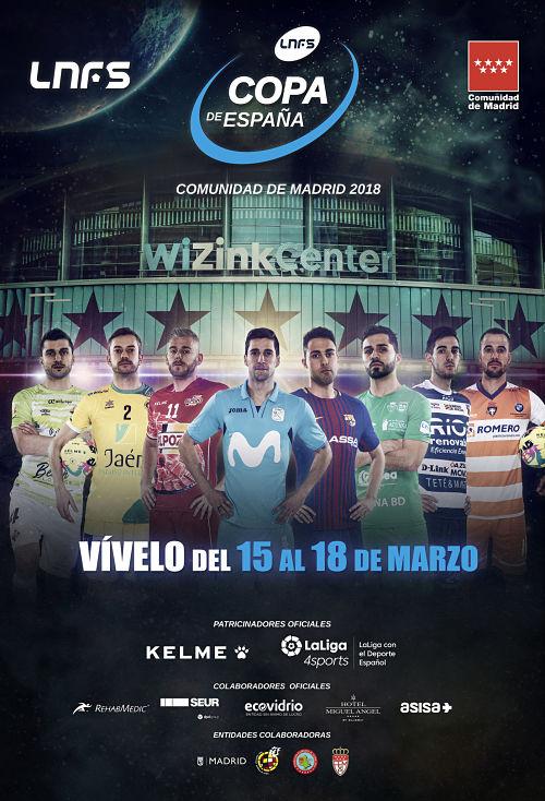 Cartel Oficial Copa de España 2018